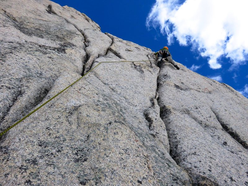Rock Climbing Photo: Pitch 7.