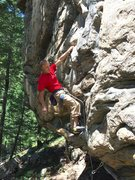 Rock Climbing Photo: Prowler, Mill Creek Block