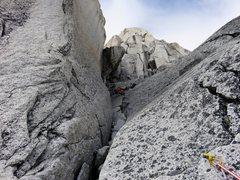 Rock Climbing Photo: Pitch 9.