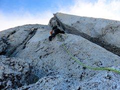 Rock Climbing Photo: Pitch 12.