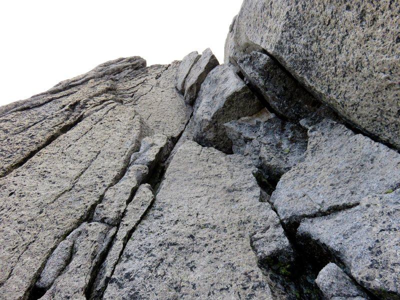 Rock Climbing Photo: Pitch 13.
