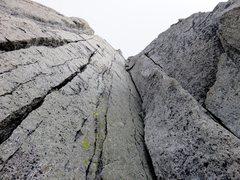 Rock Climbing Photo: Pitch 14.