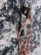 Rock Climbing Photo: Can use these pins for the tension traverse at sta...