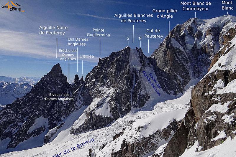 Rock Climbing Photo: Climb the ridge from left to right.