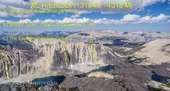 Rock Climbing Photo: Mt. Hitchcock outline