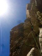 Rock Climbing Photo: So Cal Alpine Gold!!