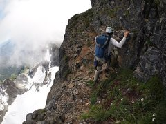 Rock Climbing Photo: ledges