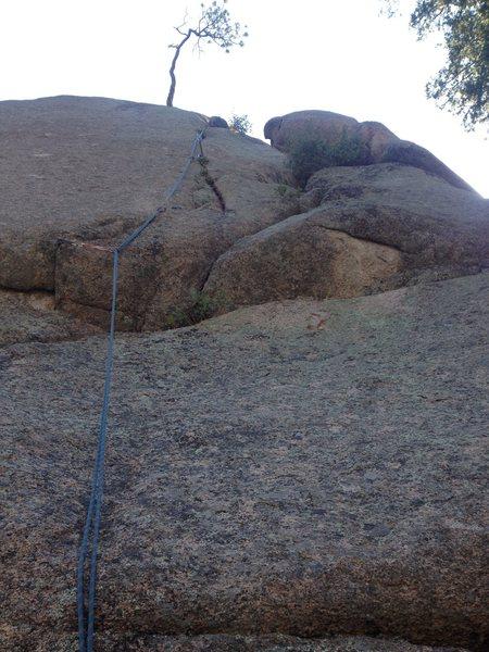 Rock Climbing Photo: A & E Crack1