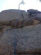 Rock Climbing Photo: A & E Crack2