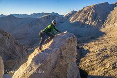 Rock Climbing Photo: The summit block does not suck