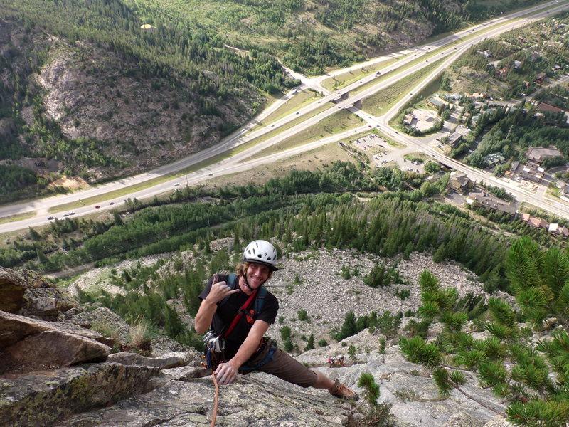 Rock Climbing Photo: Having a blast!