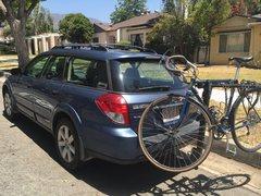 Rock Climbing Photo: bike rack