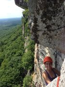 Rock Climbing Photo: Great top out on last will be first!