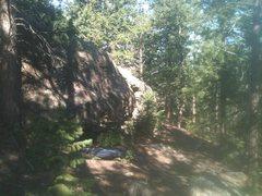 Rock Climbing Photo: Charybdis traverses the wall right to left finishi...
