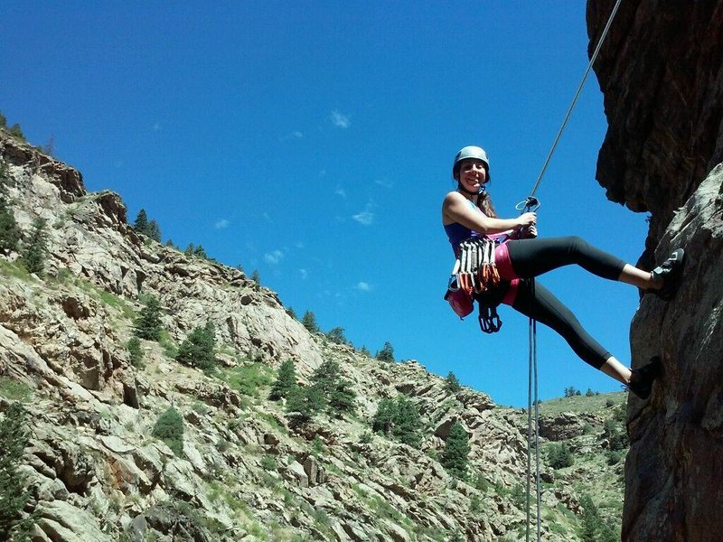 Rock Climbing Photo: personal pic