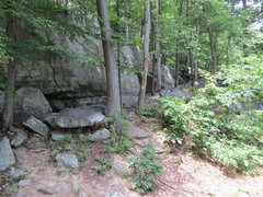 Rock Climbing Photo: The Seasons approach trail.  The next trail is Sli...