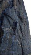 Rock Climbing Photo: Bouldering the Gill Crack.