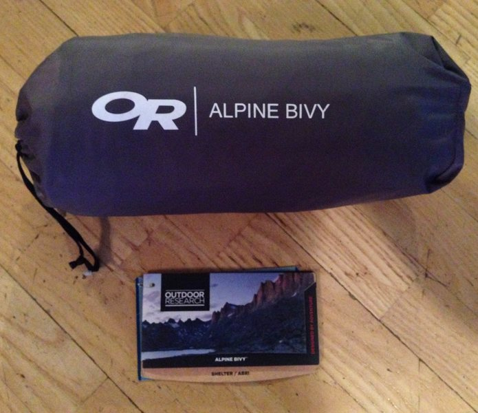 Rock Climbing Photo: OR Alpine Bivy (brand new with tags)