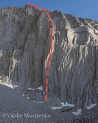 Rock Climbing Photo: The outline