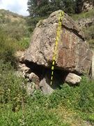 Rock Climbing Photo: Block Boulder.