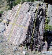 Rock Climbing Photo: Slab Wall.