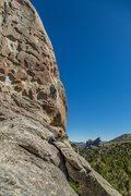 Rock Climbing Photo: Scream cheese made me scream.
