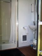 Rock Climbing Photo: inside view of your private use shower and toilet,...