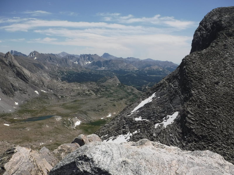 Rock Climbing Photo: South into East Fork Valley