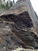 Looks grand, but bound to BREAK! Tread lightly, consider not climbing this one