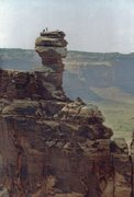 Rock Climbing Photo: Ross and Gardner FA Kachina Tower South 1999