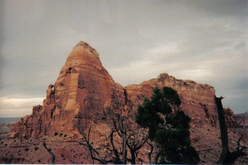 FA El Sombrero Tower . San Rafael Swell (North) With Jame Garret 2001