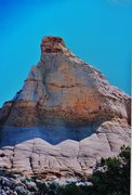 Rock Climbing Photo: FA Toviah Tower  San Rafael Swell (North). Utah P....