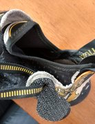 Rock Climbing Photo: Solution soft sock/leather for comparision