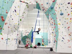Rock Climbing Photo: Aerial silks session