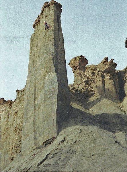 "Rock Climbing Photo: FA ""Passport to the Golden Age"" Palisade..."