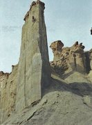 "Rock Climbing Photo: FA ""Passport to the Golden Age"" Palisade..."