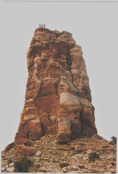 FA Arch Tower. San Rafael Swell (North)  With Crusher Barlett and Layne Potter 2006
