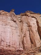 Rock Climbing Photo: FA The Rooster Weasel Formation .San Rafael Swell ...