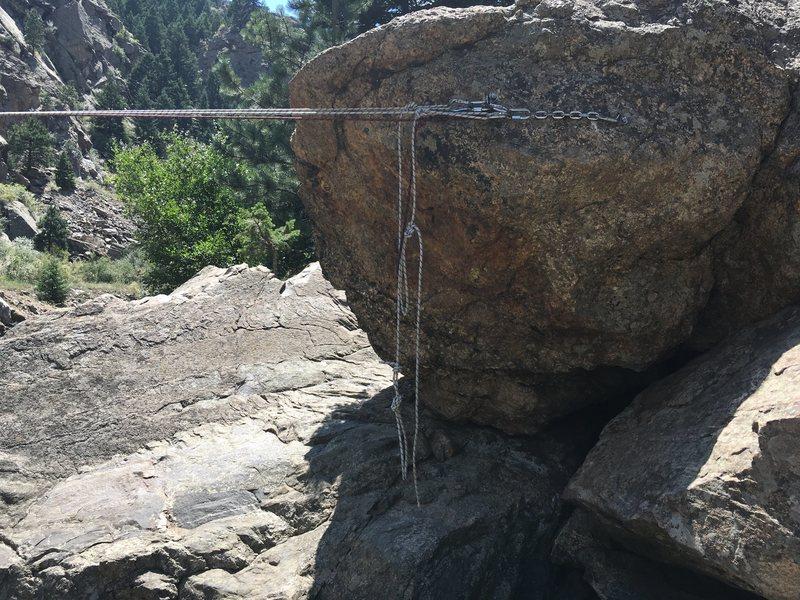 Rock Climbing Photo: The far side