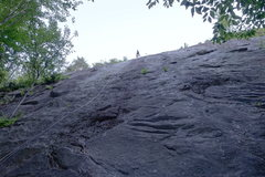 Rock Climbing Photo: Madigan, first pitch