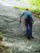 "Rock Climbing Photo: Getting to ""Lichen It"" more"