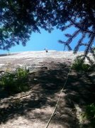 Rock Climbing Photo: Park and Ride, Highway Blues Slab, ADK.