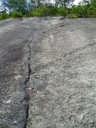Rock Climbing Photo: Looking up at the beautiful crack from about 20-30...