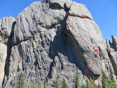 Rock Climbing Photo: Passport to The Sky 12-