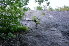 Rock Climbing Photo: The Green Mile, start