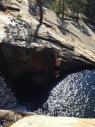 Rock Climbing Photo: Fun swimming holes in the area!