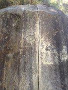 Rock Climbing Photo: Ant Line