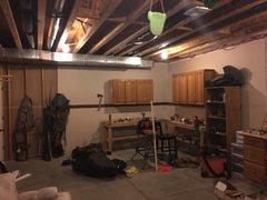 Two basement walls