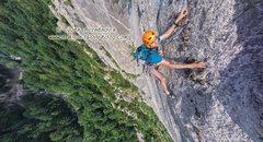 Rock Climbing Photo: solo climbing Ansó, Pyrenees , y: 2015