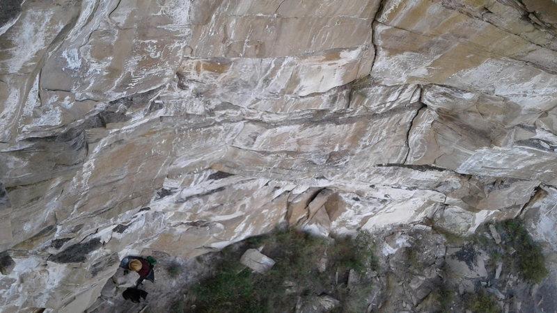Rock Climbing Photo: Uhhh....